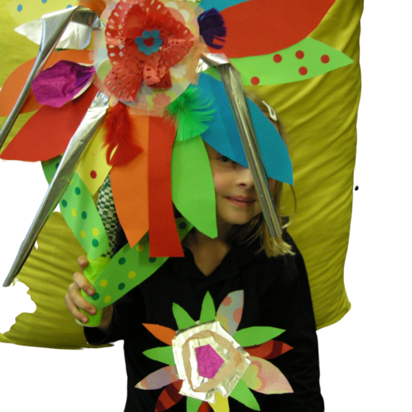 giant flower mothers day kit project