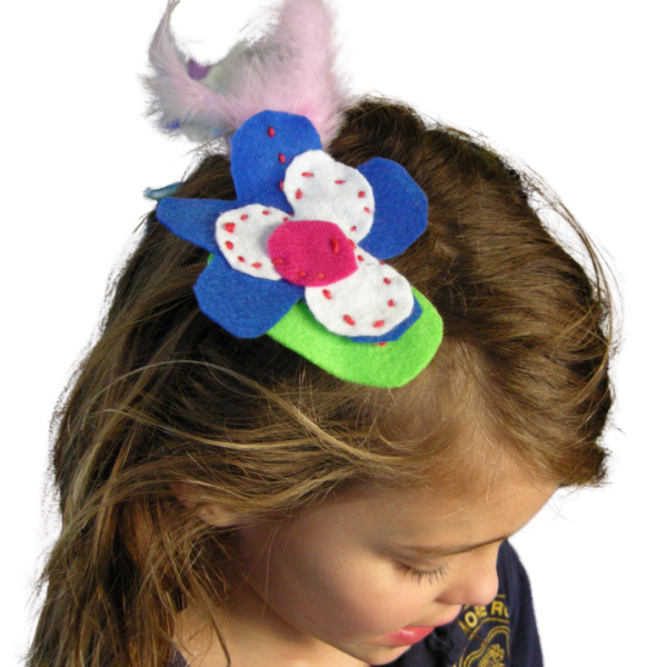 brooch or fascinator mothers day kit project