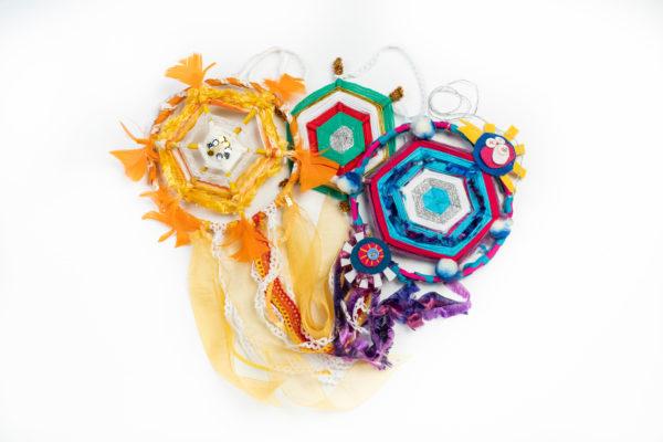 mexico-kids-craft-kit-delivered-to-your-door-weaving-dreamcatcher