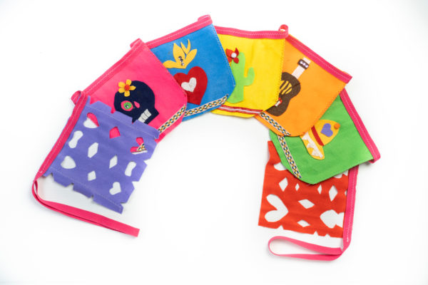 mexico-kids-craft-kit-delivered-to-your-door-bunting