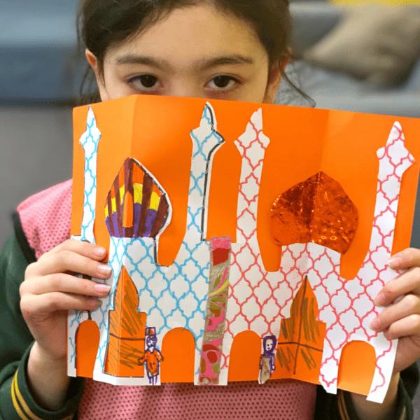 morocco-kids-craft-kit-delivered-to-your-door-kasbah-village-1