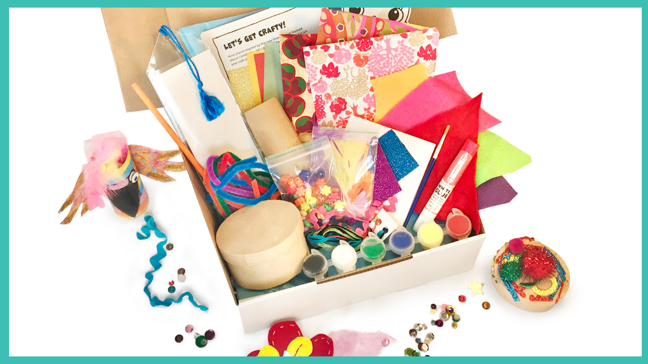 crafty kids club kids craft kits delivered to your door in australia themed multi projects per kit