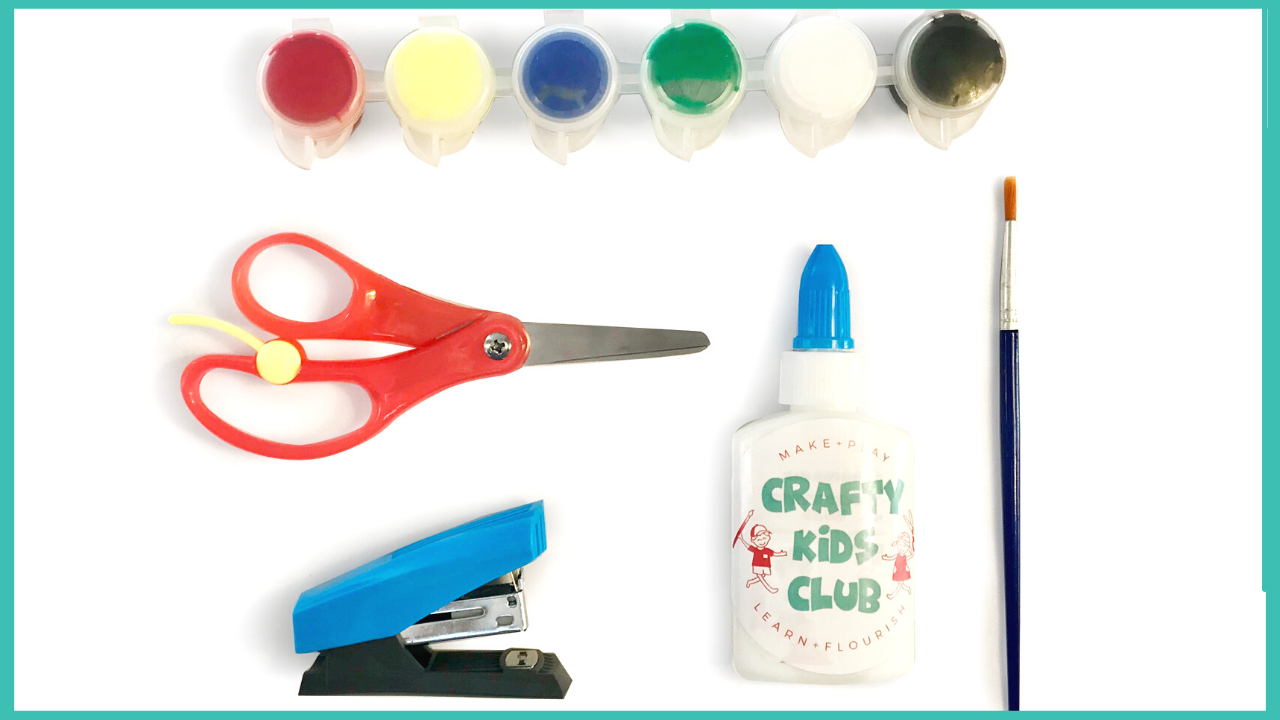 crafty kids club kids craft kits delivered to your door in australia craft cupboard basics