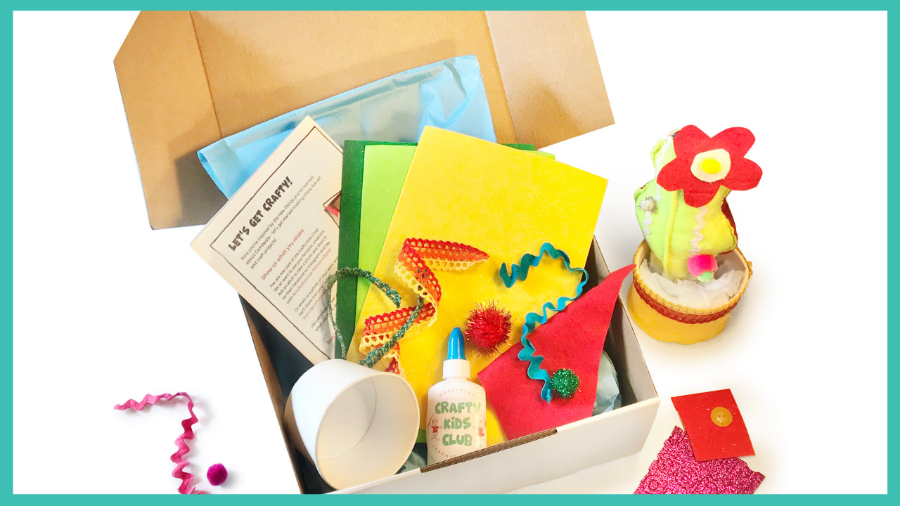 crafty kids club kids craft kits delivered to your door in australia individual project kits